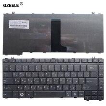 GZEELE russische Tastatur für Toshiba Satellite A200 A205 A210 A215 A300 A305 A305D A350 A355 M300 M200 M305 PK130190180 RU laptop