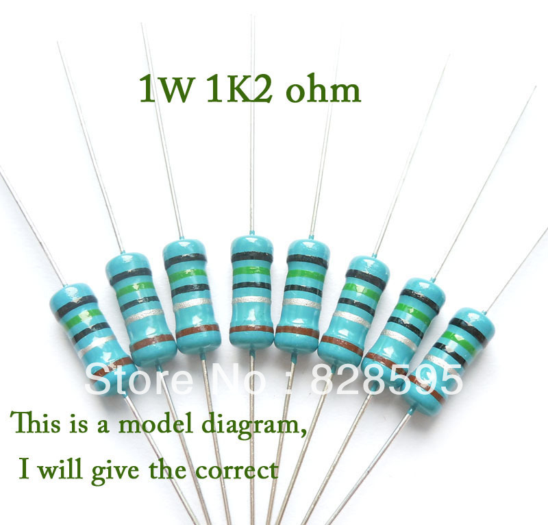 KHCB2257F1 1w 1 2k 1k2 1200 ohm 100 original brand new Fixed Resistor Metal Film Resistors khcb2257f1 1w 1 2k 1k2 1200 ohm 100% original brand new fixed