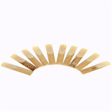 Hot Sale ! 10 pcs/set 2.5 Saxophone Reed Bamboo for Eb Tenor  Saxophone Professional Woodwind Instruments Parts Accessories