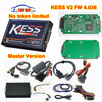DHL Free High Promotion KESS V2 Firmware 3 099 MASTER OBD2 Manager Tuning Kit No Token