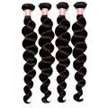 7A Peruano Virgem Cabelo Solto Onda Humana Do Cabelo Weave Bundles 4 PCS Extensiosns cabelo Amor Rainha de Cabelo Onda Solta Peruano produtos