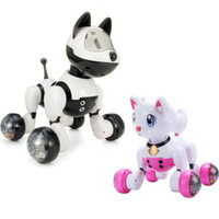 YOUDI Voice Control Dog Cat Simulation Electronic Robot Smart Interactive Dance Sing Toys Kid Gift Simulation Dog Multi Function