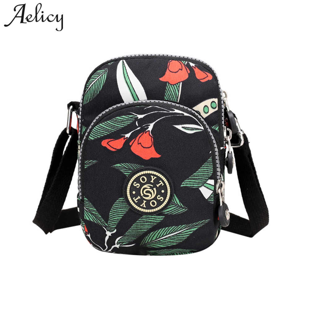 Aelicy High Quality Messenger  Women Vintage Fashion Printing Nylon Waterproof Shoulder Bag Female Handbags Famous Brands BolsaAelicy High Quality Messenger  Women Vintage Fashion Printing Nylon Waterproof Shoulder Bag Female Handbags Famous Brands Bolsa