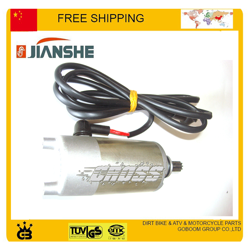 250cc electric starter starting motor start motor fit for jianshe loncin atV250 ATV UTV free shipping new motorcycles starter starting motor for cf188 0180 091100 0010 for cf moto cf188 500 utv atv