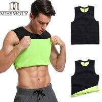 Slimming Belt Belly Mans Slimming Vest Body Shaper Neoprene Abdomen Thermo Fat Burning Shaperwear Waist Sweat