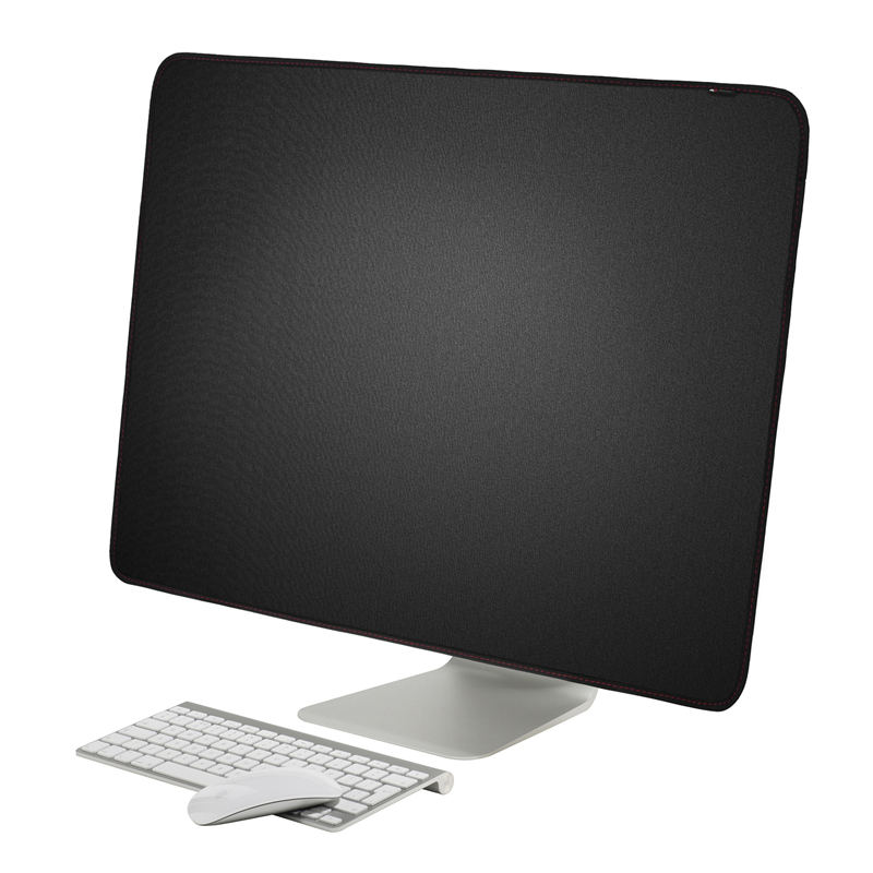 21 inch 27 inch Black Polyester Computer Monitor Dust Cover Protector with Inner Soft Lining for Apple iMac LCD Screen(China)