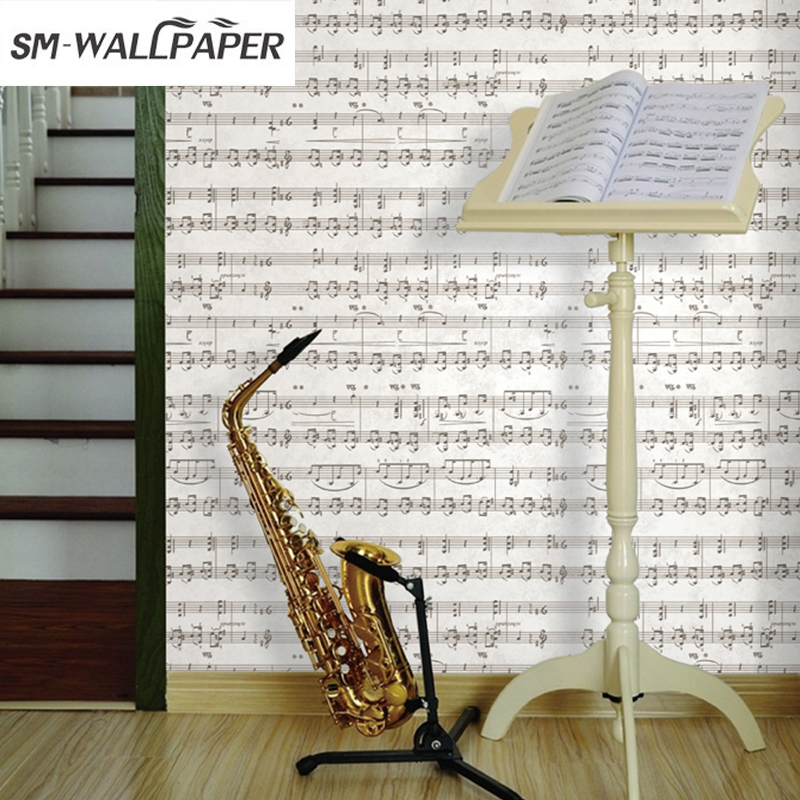 New Classic Wall Paper Musical wallpaper music sheet music Wall Covering 3D Wallpaper Home Background Decor wallpapers youman 3d brick wallpaper wall coverings brick wallpaper bedroom 3d wall vinyl desktop backgrounds home decor art