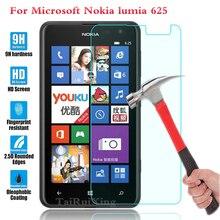 (Tairuixing) защитная пленка 0.3 мм 9 h 25d передняя премиум закаленное стекло для nokia microsoft lumia 625 n625 крышки