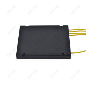 Image 3 - ZHWCOMM SC APC PLC 1X4 Single mode Fiber Optical splitter FTTH  optical coupler splitter