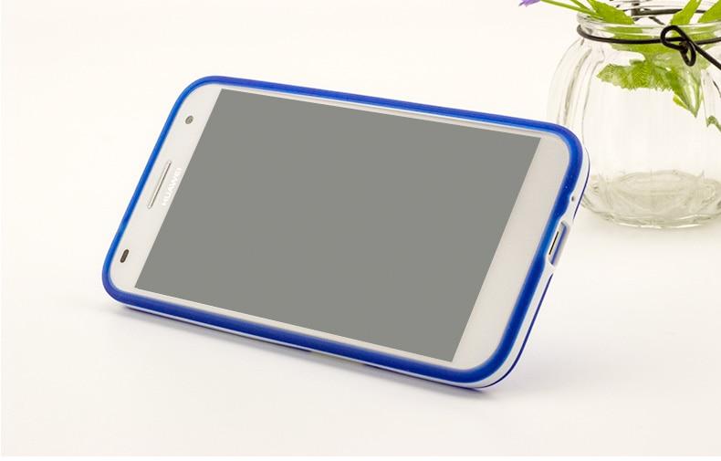 Ultratunn PC-ram Huawei G7 C199 Blyertsfodral TPU-fodral för Huawei - Reservdelar och tillbehör för mobiltelefoner - Foto 5