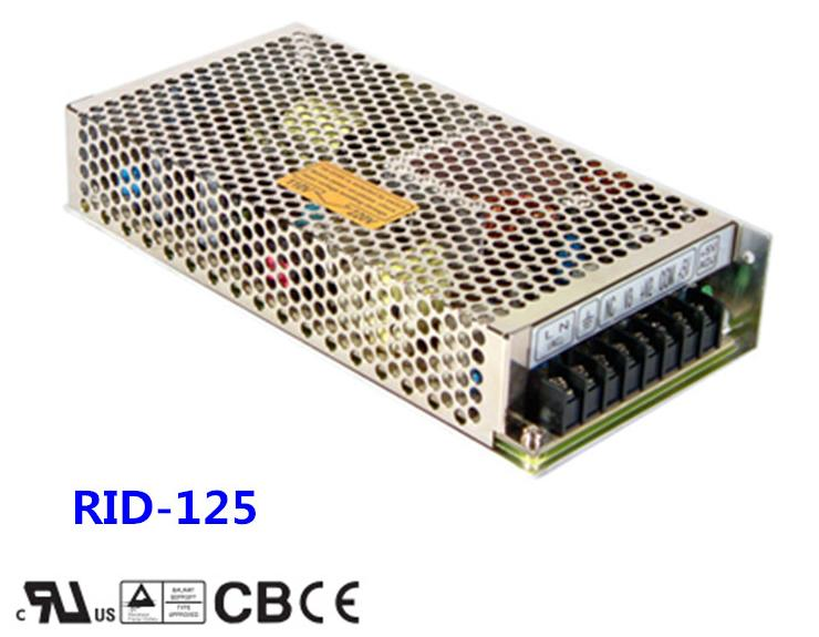 ФОТО Free shipping 1pc  RID-125-1224  133.2w 12v 3.7A Dual Output Switching Power Supply