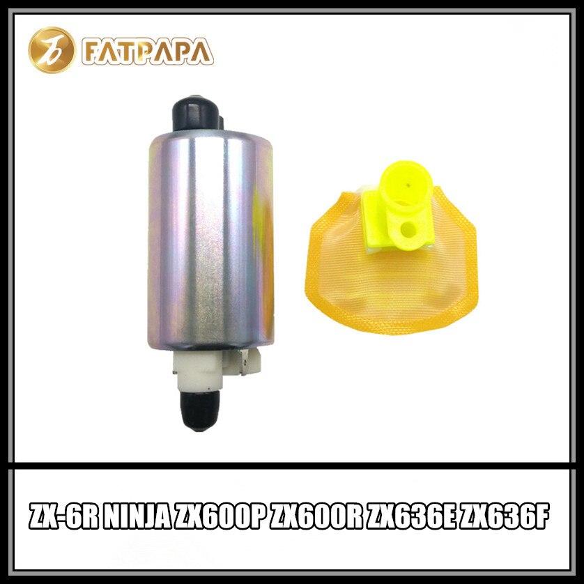 Motorcycle Fitting Fuel Pump FOR ZX-6R ZX6R ZX 6R NINJA ZX600P ZX600R ZX636E ZX636F 2007-2016 08 09 10 11 12 13 14 15