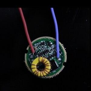 Image 3 - Luminus SST 50 LED Emitter 15W Kalt Weiß 6500K Warmweiß Chip birne diode 20mm kupfer basis + 1 modus SST50 fahrer platine