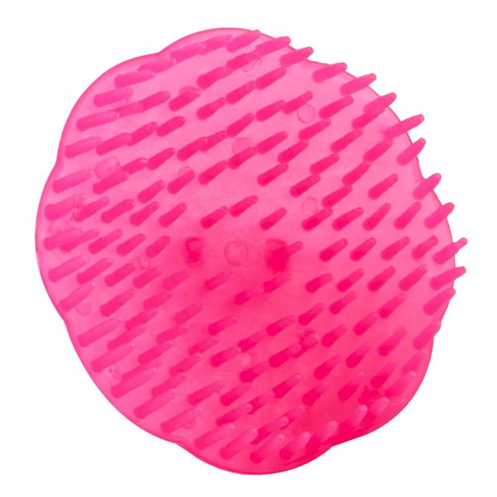 Новый персональный шампунь для волос и кожи головы массажный гребень-массажер для тела салонный инструмент для укладки Массажная щетка для волос
