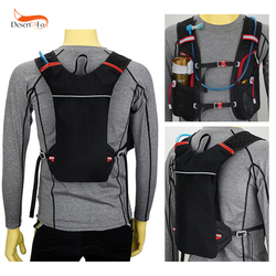 New Marathon Water Bag Polyester Hydration Backpack Off-road Run Jogging Vest Style Outdoor Sports Cycling Racing 3 Color