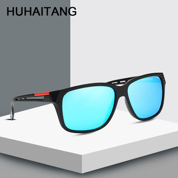 HUHAITANG Luxury Brand Oversized Square Sunglases Men Designer Hollow Sunglasses Women 2019 Outdoor Goggle Sun Glasses For Mens 1