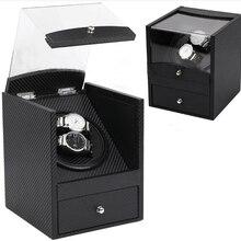 Безопасный автоматический заводчик для часов коробка с ящиком Глобальный применение Plug или батарея uhrenbeweger remontoir montre automatique часы циклотес