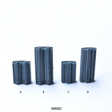 HO N O scale 1/500-1/800 Model train ABS plastic building kits
