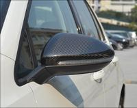 1:1 Replacement Style For VW Golf 7 MK7 R GTI VII Carbon Fiber Rear View Mirror Cover Car Accessories