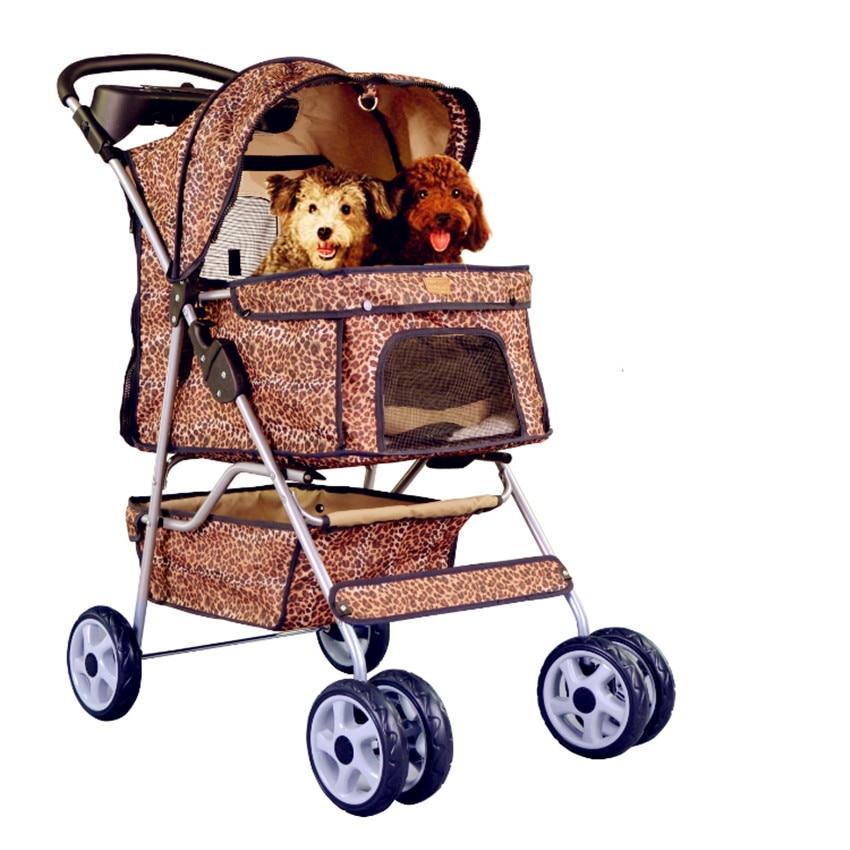 Popular Leopard Dog Stroller Buy Cheap Leopard Dog