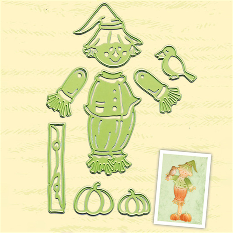 Eastshape  Scarecrow Die Metal Cutting Dies New for Card Making Scrapbooking Craft Embossing Cuts Stencil Cut