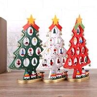1 шт. Рождество дерево медведь Санта Клаус Снеговик шар висит декор Xmas Главная Орнамент для рождественской вечеринки Домашний Декор
