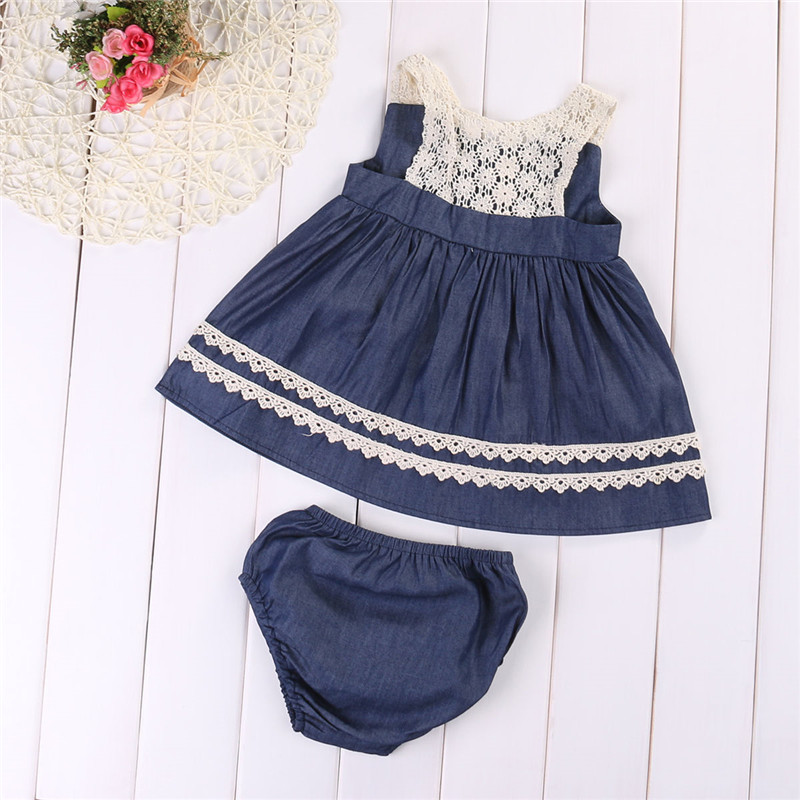 3pcs Infant Baby Girls Blooms Floral Lace T-Shirt+Short Pants+Headband Outfits