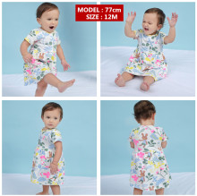 Baby Girls Flower Dress clothing 6-9 Months