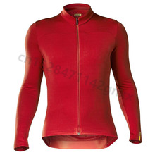 цена на 2019 New Mavic Spring Quick-Dry Long Sleeve Cycling Jersey Men Anti-UV MTB Bike Clothes Breathable Bicycle Maillot Ropa Ciclismo