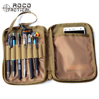 ROCOTACTICAL   Sports   Waist Bags EDC Mini Hunting Pocket Organizer Bag Cordura Nylon Military Utility Message   Accessory   Hiking Bag