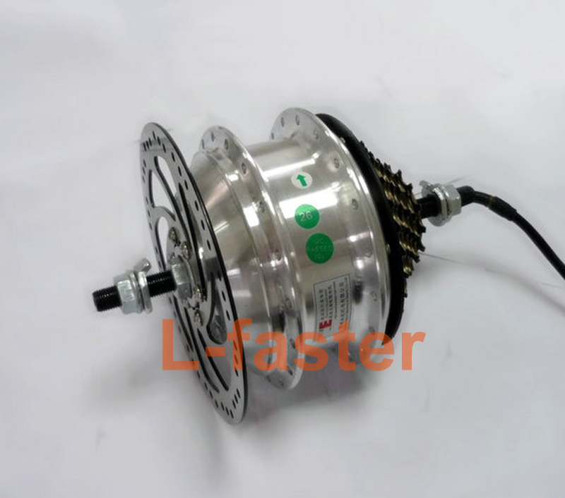 Buy 36v 48v 250w Electric Bike Rear Wheel