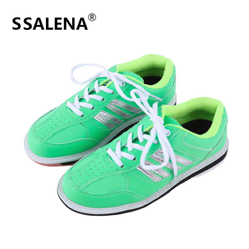 Men Bowling Shoes High Quality Breathable Women Bowling Shoes Lightweight Sneaker Skidproof Feature Sneakers AA11039