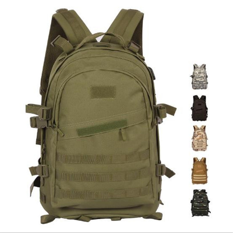 Cosplay PUBG Jedi Survival Three Backpack Mountaineering Tourism Field camping Camo Waterproof tactics 3D Package Men and women