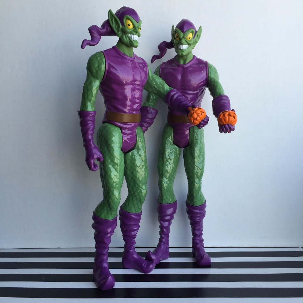 bela Marvel Spiderman Green Goblin PVC Action Figure Collectible Toy 12 30CM HRFG347 kid's toy neca planet of the apes gorilla soldier pvc action figure collectible toy 8 20cm