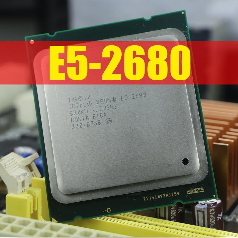 Intel Xeon Processor E5 2680 C2 SR0KH 20M Cache 2 7 GHz 8 00 GT s