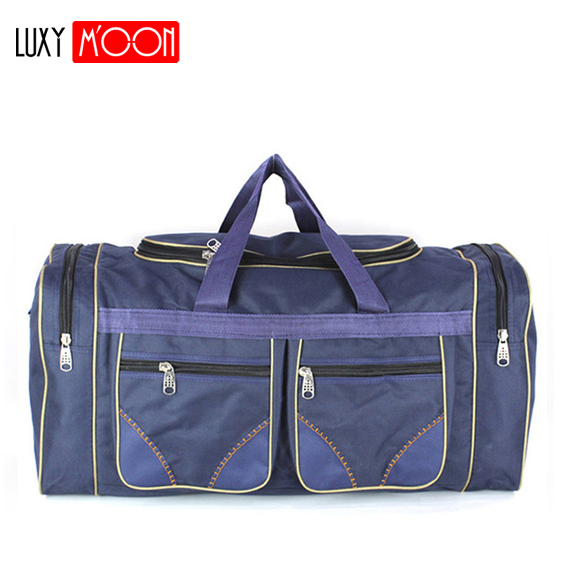 Unisex Nylon Travel Bags Men Waterproof Gym Bags Women Training Shoulder Bags Duffle Outerdoor Handbags Sack Sac De XA130K in Travel Bags from Luggage Bags