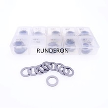 100pcs B31 Washer Shim Fuel System Common Rail Parts Injector Adjustment Gasket Repair Kit Size 1.30-1.39 0.01mm Precision