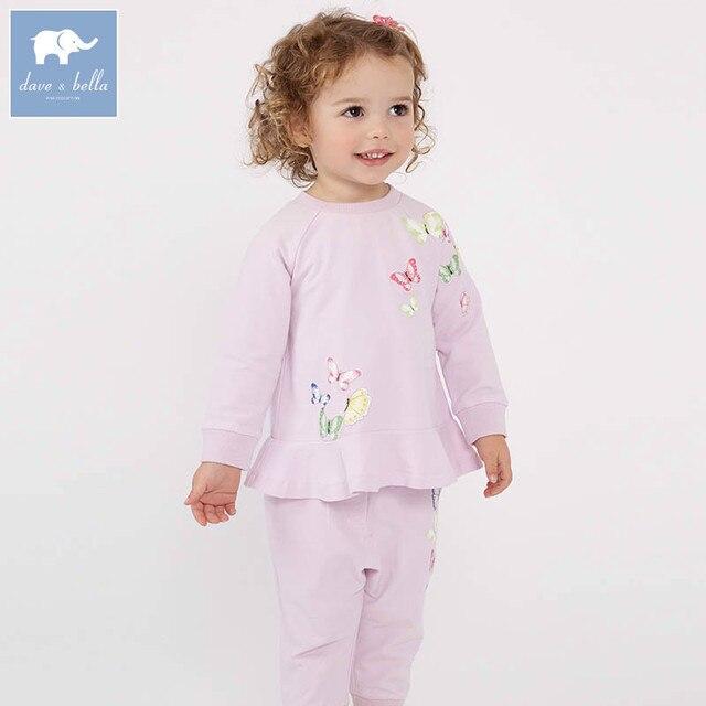 3af647c2f070 Aliexpress.com   Buy DBJ7130 dave bella spring baby girls clothing ...
