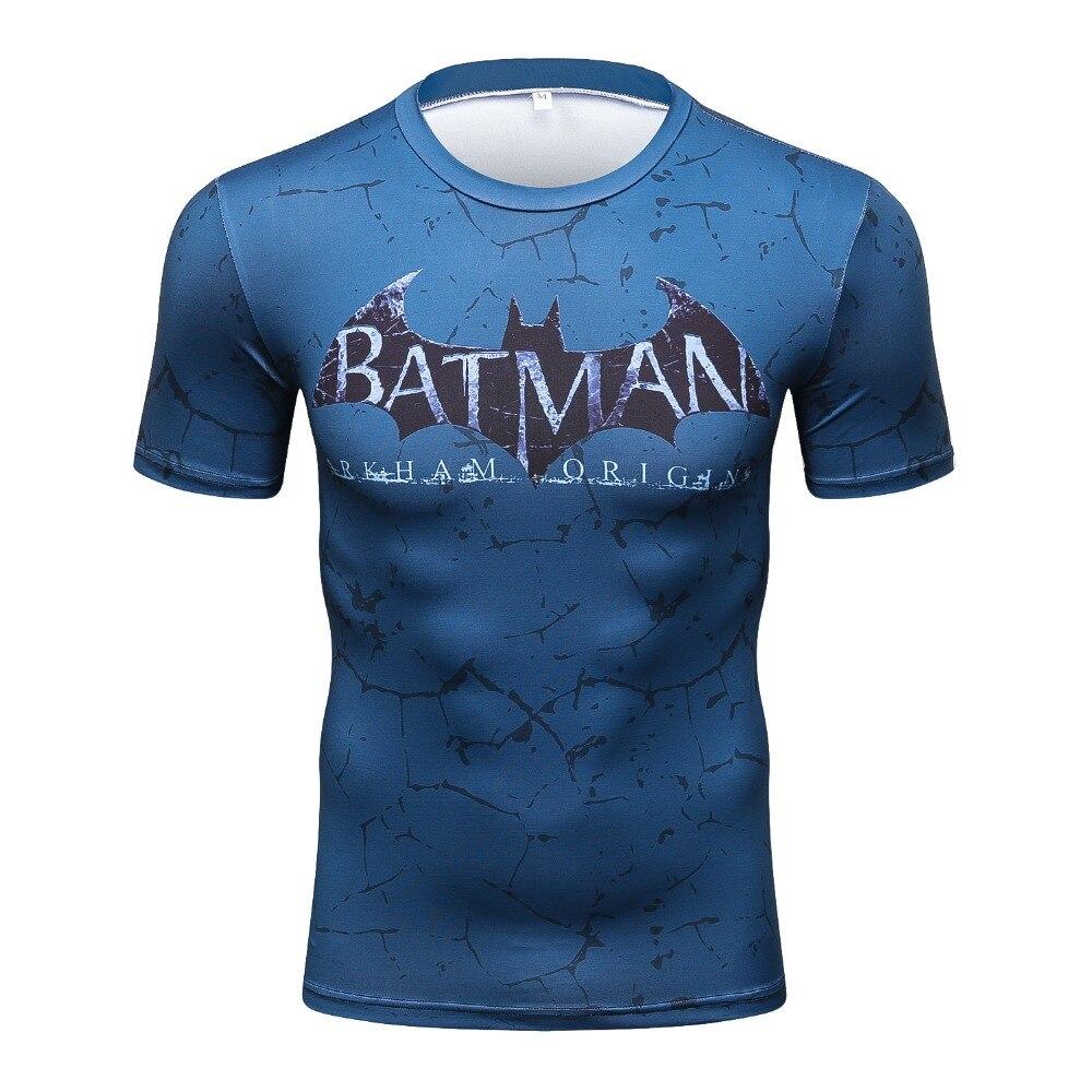 2017 Batman VS Superman T Shirt Tee 3D Printed T-shirts Men Short sleeve New Cosplay Costume DC Film Slim Fit Clothing Tops Male
