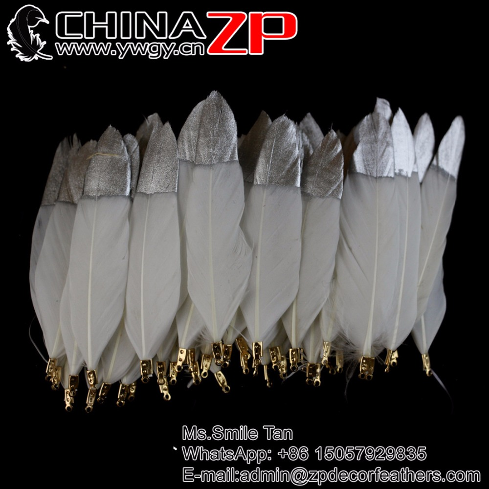 White craft feathers bulk - Chinazp New Craft Feathers 100 Pcs Lot Selected Good Quality Shining Duck Feather White Bleached