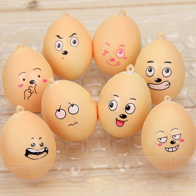 Прикольные яйца с рисунком