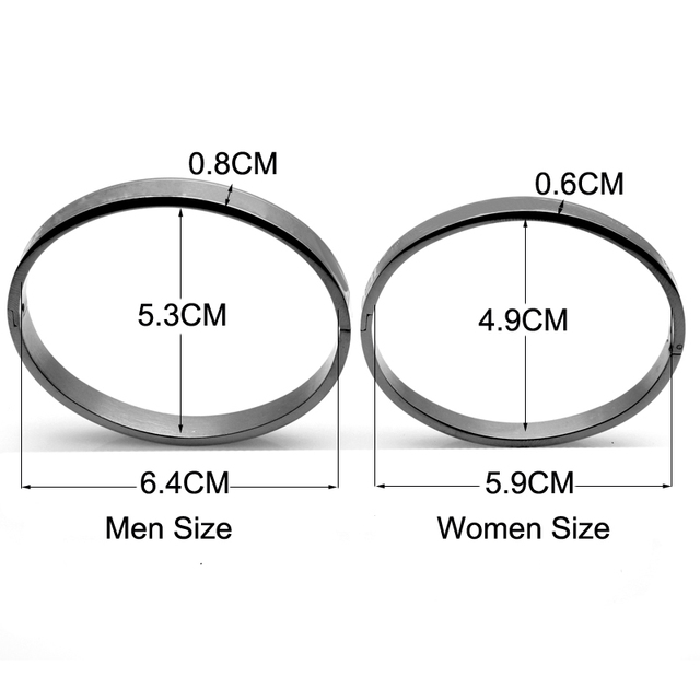Men And Women Stainless Steel Rose Gold Color Couples Bracelet Carving Roman Numeral Lover Cuff Bracelet Bangle Wedding Jewelry 5
