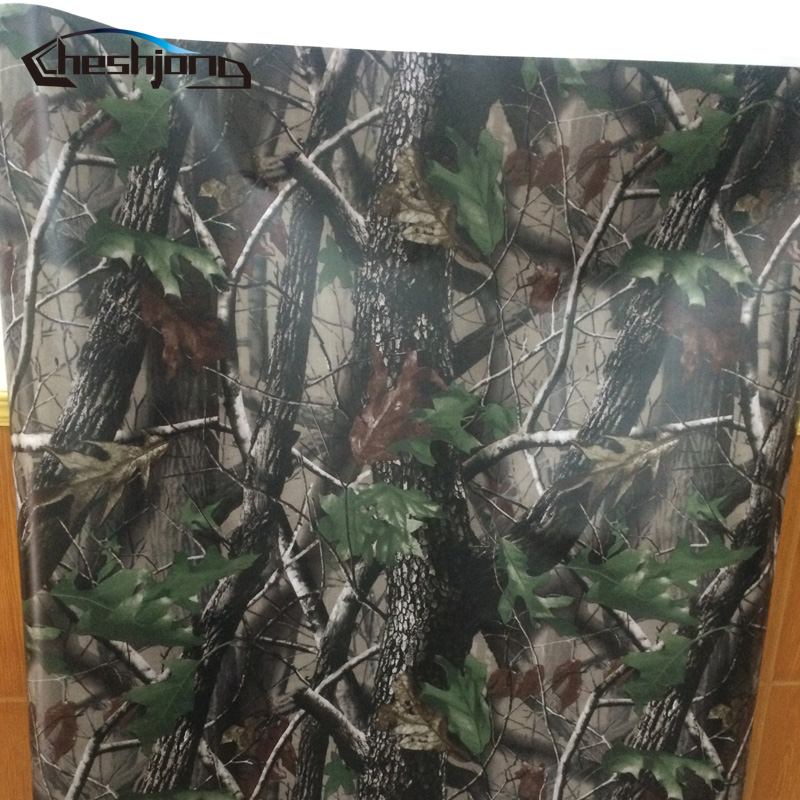 Mossy Tree Oak Camo Vinyl Wrap Roll Real Leaf tree Camouflage Foil Car Wrapping Camouflage Film Truck Graphics or fabric camouflage leaf headgear