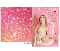 Custom Vinyl Cloth Fantasy Pink Bokeh Shiny Photography Backdrops For Newborn Baby Photo Studio Portrait Backgrounds