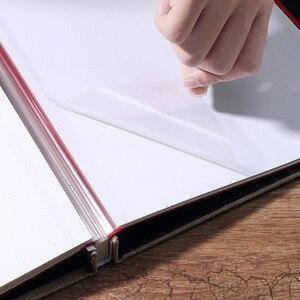 Image 5 - Album Photo bricolage 16 pouces avec Film auto adhésif Photos de mariage Photo bébé Album Scrapbook papier artisanat Film livre cadeau