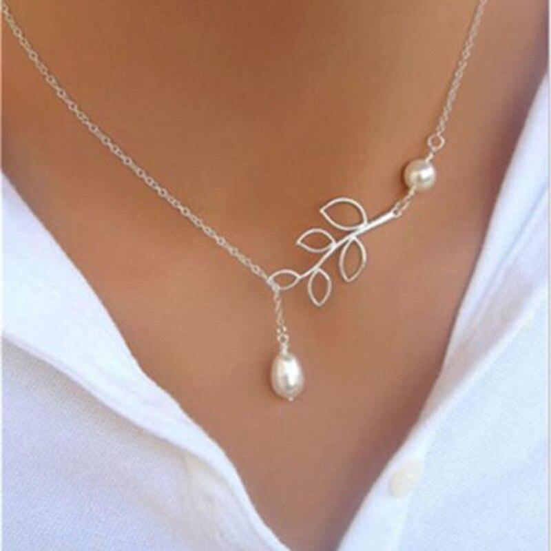 Shellhard Trendy Beads Double Layer Choker Necklace vintage Chain Chunky Statement Bib Pendant Necklace Women Fashion Jewelry