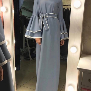 Image 2 - דובאי העבאיה קפטן חיג אב מוסלמי אופנה שמלת קפטן טורקיה Abayas לנשים אירופאי תורכי אסלאמי בגדי Musulman דה מצב