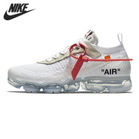 Original New Arrival 2018 NIKE Air VaporMax x OFF WHITE Run Men's Running Shoes Sneakers