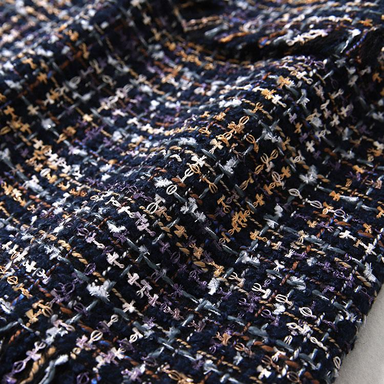 Flecos Estilo Primavera Nuevo Pequeño Con Alta Forma Fragancia De Media Tweed Cintura Y Una Dq0042 Longitud Falda Cadera Otoño 00ZErqv