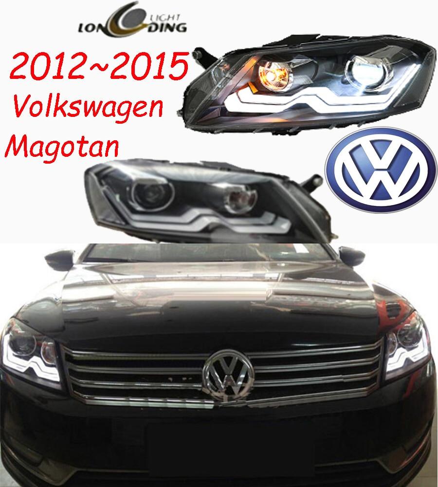 Magotan headlight,2013~2016,Free ship!Magotan fog light,Transporter,vanagon,vento,polo,touareg;Magotan
